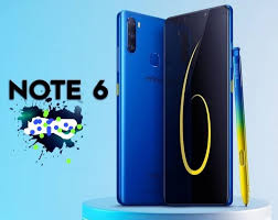 Infinix Note 6 Specifications