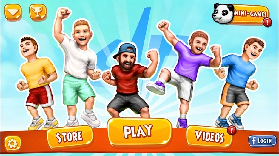 Offline Basketball Games: Dude Perfect 2