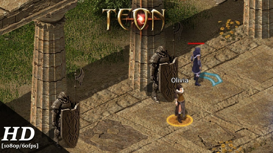 Teon Android Gameplay - Best MMORPGs for Android