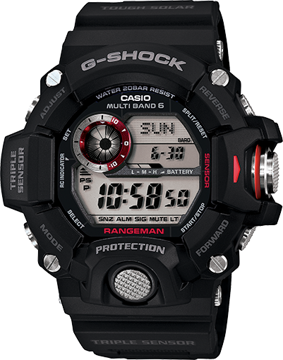 Best G Shock Watches for Outdoors: G-SHOCK GW-9400-ICR
