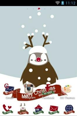 Peoerico Christmas Android Theme