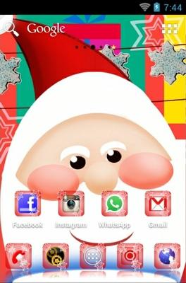 Santa Claus Android Theme