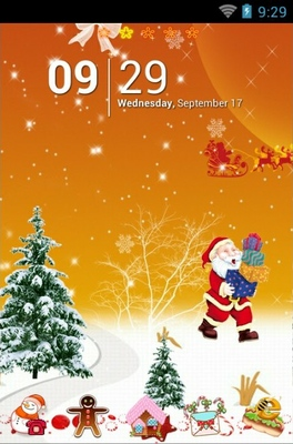Happy Christmas Android Theme