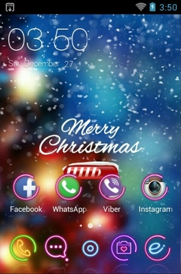 Christmas Loading Android Theme