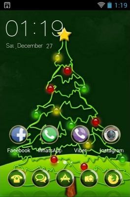 Christmas Android Theme for CLauncher